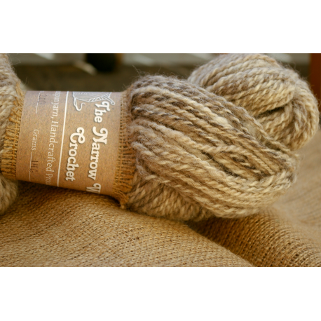 Sprouted Yarn - Handspun Wool Yarn