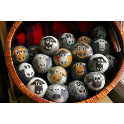 Cute Sheepies - 100% Wool Dryer Balls - Set of 3